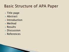No Author - APA Citation Style, 6th edition - Research